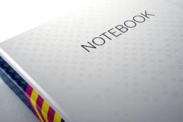 veredeltes Notizbuch